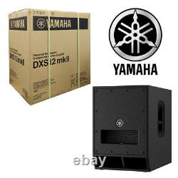 Yamaha DXS12mkII 12-inch PA Powered Active Subwoofer DXS12 Mark2 SUB