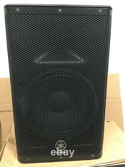 Yamaha Model DXR10 Powered PA Speaker