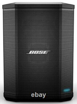 (2) Bose S1 Pro Powered Rechargeable Portable Bluetooth Pa Speakers+stands+bag