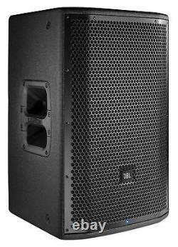 (2) Jbl Prx812w 12 1500 Watt Powered Pa Dj Speakers Withdsp/wifi/eq+stands+cables