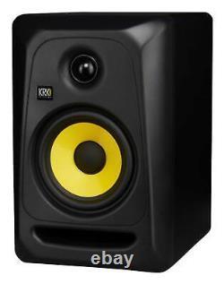 (2) Krk Classic 5 Studio Monitor 5 Haut-parleurs À Champ Proche+condenseur MIC