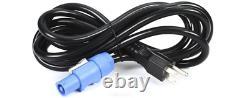 2 New Turbosound Iq12 2500w 12 Powered Haut-parleur / Moniteur Auth Garantie Concessionnaire
