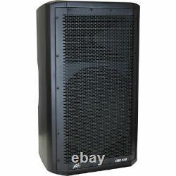 (2) Peavey DM 112 Dark Matter Pro Audio Dj 650w Powered 12 Pa Président Paire Nouveau