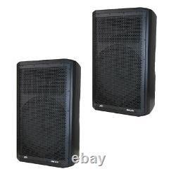 (2) Peavey DM 115 Dark Matter Pro Audio Dj 700w Powered 15 Pa Président Paire Nouveau