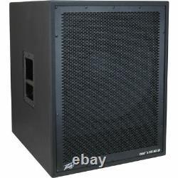 (2) Peavey DM 118 Sum Dark Matter Pro Audio Dj 800w Powered 18 Sub Subwoofer