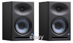 (2) Presonus Eris E8 Xt 8 Powered Studio Monitors Haut-parleurs Avec Guidewave E8xt