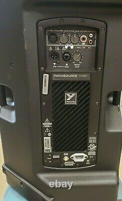 2 Yorkville Ps15p 1400 Watts Alimenté 15 Deux Way Loud Speaker Paire