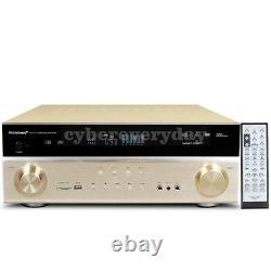 5.1 Amplificateur Home Theater 6ch Amplificateur Bluetooth Passif Haute Puissance Op Basse Active