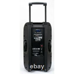 American Audio Els-go 15bt Batterie Powered Speaker Nouveau