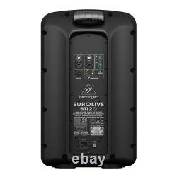 Behringer B112d Active 12 Powered Pa Speaker Portable Stage Wedge Floor Monitor