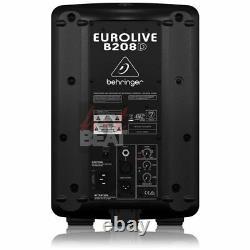 Behringer B208d 8 Powered Active Pa Speaker Super Compact Haut-parleur Portable