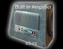 Big Power 1800w 12 Ampli Actif Amplifié Subwoofer Sub Amp Boîte Basse Freedelivery