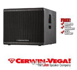 Cerwin Vega CVXL 118s Powered 2000 Watts De 18 Pouces Avec Subwoofer De Classe D Amp