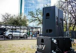 Cerwin Vega Cvxl-215 Dual 15 Active Speaker & Cvxl-218 Dual 18 Powered Sub Pak