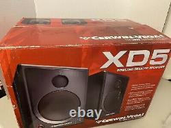 Cerwin Vega Xd5 5 Haut-parleurs De Bureau Motorisés À 2 Voies