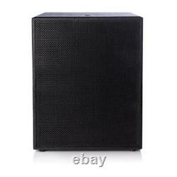 Delta 18 Active Powered Subwoofer 1000w Rms 2000w Programme Puissance 18mm Birch Plyw