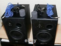 Dynaudio Bm15a Powered Studio Monitors Noir (2 Moniteurs) 110/220v