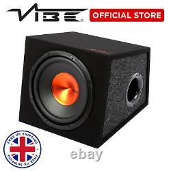 Edge 12 Pouces 900 Watts Max Subwoofer Active Bass Enclosure Spl Power