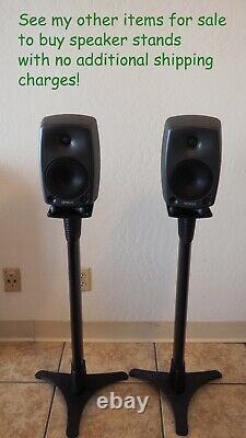 Genelec 8030a Powered Bi-amplified Active Studio Monitor Speakers (ensemble De 2)