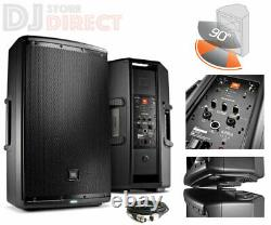 Jbl Eon 615 15 1000w Haut-pare-pai-pai-pai-pai-pai-pai-pai-paial Bluetooth Eq Control