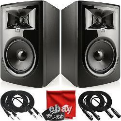 Jbl Professional 306p Mkii Next-gen 6-inch 2-way Powered Studio Monitor Paire Kit