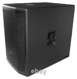 Jbl Prx818xlfw 18 1500w Pro Active Powered Subwoofer Withwifi/dsp/eq+wood Cabinet