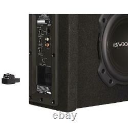Kenwood 8 Active Amplified Car Subwooferbuilt-in Class-d Amplificateur400w Puissance