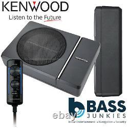 Kenwood Ksc-psw8 250 Watts Sous Siège Actif Amplifié Voiture Sous-marin