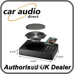 Kenwood Ksc-psw8 Compact Under Seat 250w Subwoofer Amplified Powered Sub