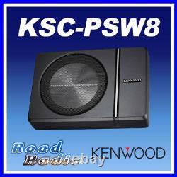 Kenwood Ksc-psw8 Compact Under Seat Active Amplified Powered Subwoofer 250w Kenwood Ksc-psw8 Compact Under Seat Active Amplified Powered Subwoofer 250w Kenwood Ksc-psw8 Compact Under Seat Active Amplified Powered Subwoofer 250w Kenwood
