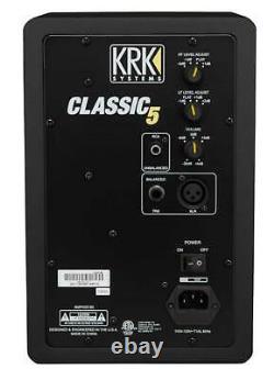 Krk Classic 5 Studio Monitor 5 Nearfield Actived Bi-amped 2-way Speaker