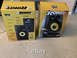 Krk Rokit 5 G3 Powered Studio Monitor Noir (pair)