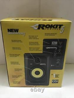 Krk Rokit 5 G3 Rp5g3-maclassic 5 Haut-parleur De Moniteur De Studio Bi-amplifié Actif