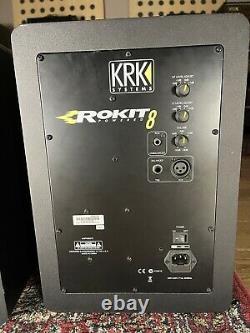 Krk Rokit Rp8 G3 Moniteurs Studio/dj Alimentés