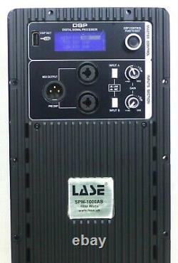 Lase Spm-1000ab Module Amplificateur De Puissance Bi-amp; 1000w (passif En Actif) 2 Voies