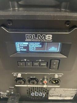Mackie Dlm8 Haut-parleur À 8 Pignons Motorisés