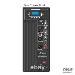 Nouveau Pylepro Pphp1237ub 900w Bluetooth 12 Pouces Alimentation Dj Pa Black Speaker System