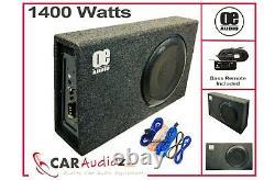 Oe 12 Sub Woofer Intégré En Amp Amplifié Active Slim Shallow Bassbox Power