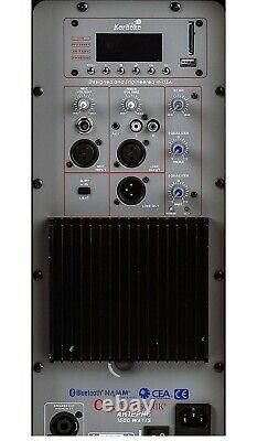 Paire Alphasonik All-in-one 12 Powered 1500w Pro Dj Amplifié Avec Bluetooth Usb