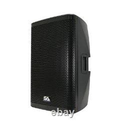 Paire De 15 1000w Pa / Dj Haut-parleur Dsp, Bluetooth, Mélangeur, Ampli De Classe D