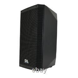 Paire De Haut-parleur De 12 1000 Watts Pa / Dj Bluetooth, Dsp, Mélangeur Et Ampli De Classe D