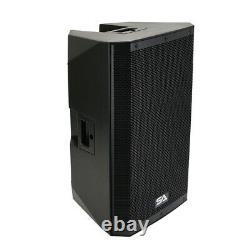 Paire De Haut-parleur Pa/dj De 15 1000 Watts, Bluetooth, Dsp, Mélangeur Et Ampli De Classe D