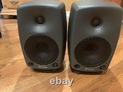 Paire De Haut-parleurs Genelec 8030b Monitor Avec Câble D'alimentation