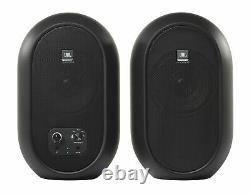 Paire De Moniteurs De Référence Jbl 104 Powered Studio Avec Casque Bluetooth+ 104set-bt