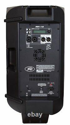 Peavey Rbn-112 Haut-parleur Pa Actif À 2 Voies 2000w Bi-amplifié Avec Dsp & Eq