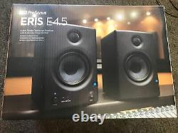 Presonus Eris E4.5 4,5 Pouces Powered Studio Monitors-nib