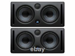 Presonus Eris E66 (2) Mtm Dual 6 Pouces Powered Studio Monitor (2 Qté)