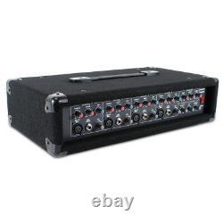 Pulse Dp3187515 10 Active Powered Pa Mixer Amplificateur Système De Haut-parleurs 200 Watts