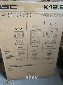 Qsc K12.2 K. 2 Série 12 2-way 2000 Watt Powered Dj Pa Speaker K12- Inutilisé-ouvert