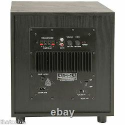 Quality 8 200w Active Sub/subwoofer Bass Cabinet Home Cinema Hi-fi Stereo Amp